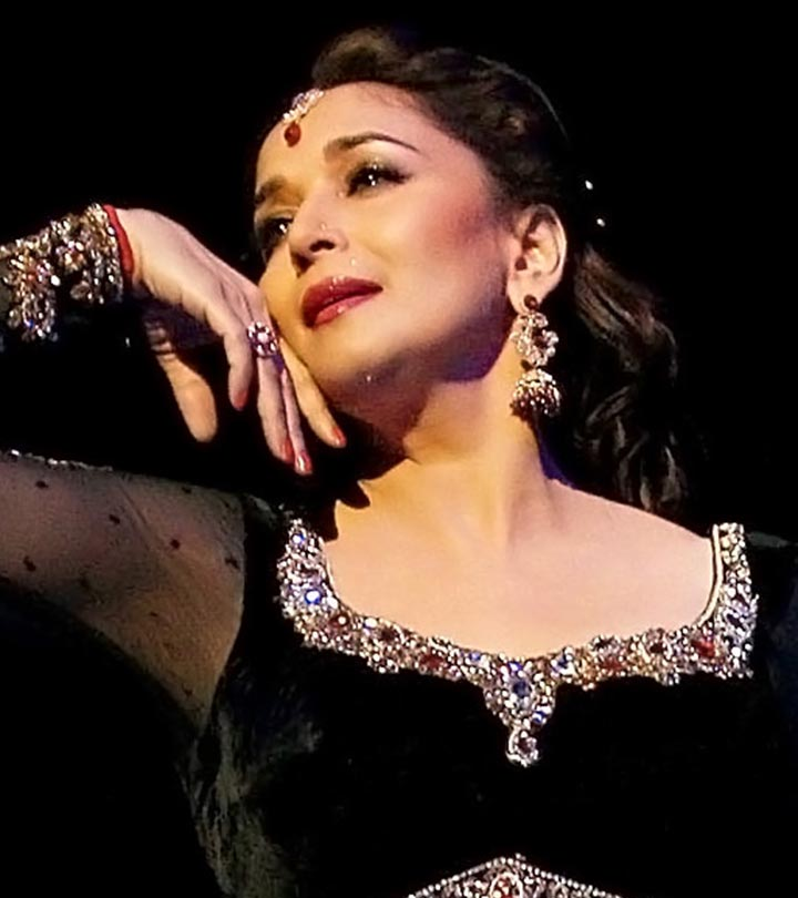Beauty Secrets Straight From The Queen Of Eternal Youth: Madhuri Dixit