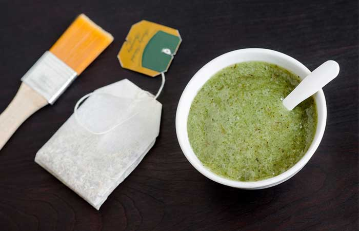 Green Tea Mud Mask - Mud Masks