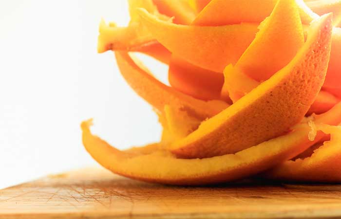 How To Get Rid OF Acne Scars - Orange Peel Powder