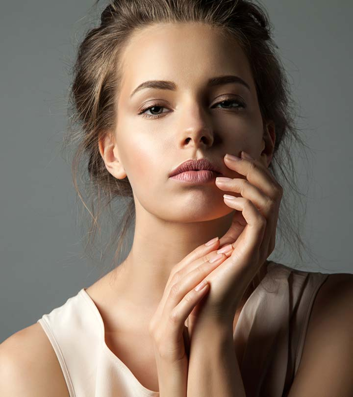 How to lighten dark upper lip?
