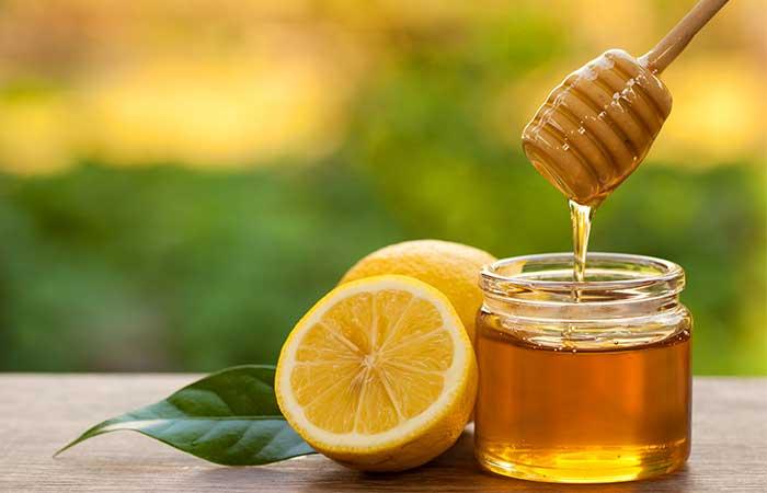 Lighten Dark Upper Lips - Lemon Juice And Honey
