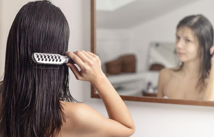 5. Wet Hair