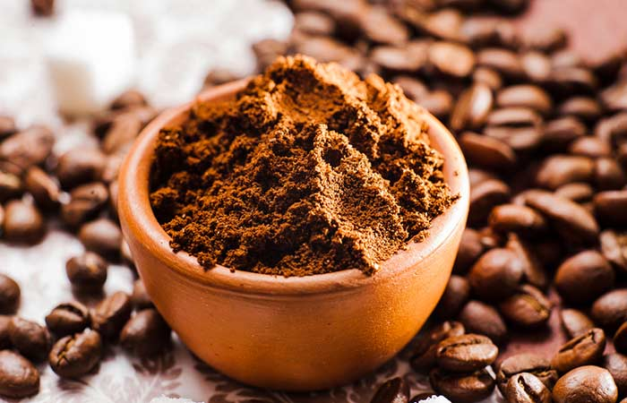 7. Coffee Grounds