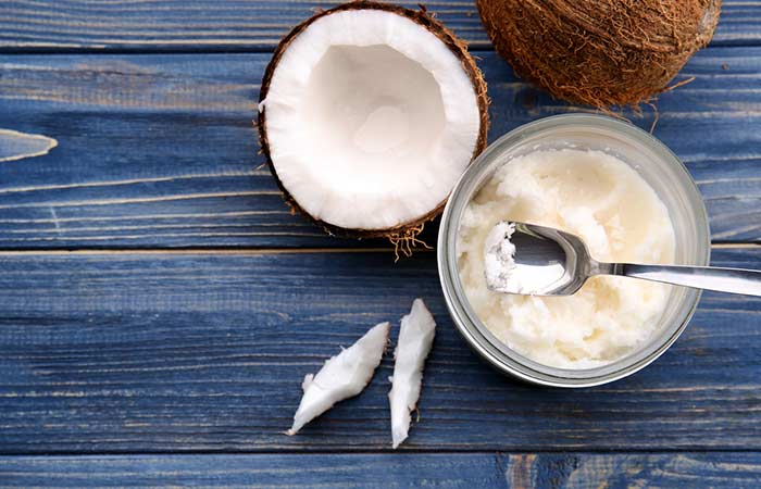 Coconut Oil - Fungal Skin Infection