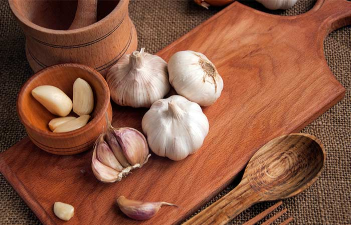 Garlic - Fungal Skin Infection