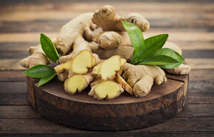 Ginger - Fungal Skin Infection