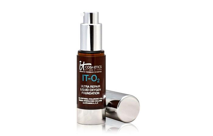 Best Foundations For Dry Skin - It Cosmetics IT-O2 Ultra Repair Liquid Oxygen Foundation