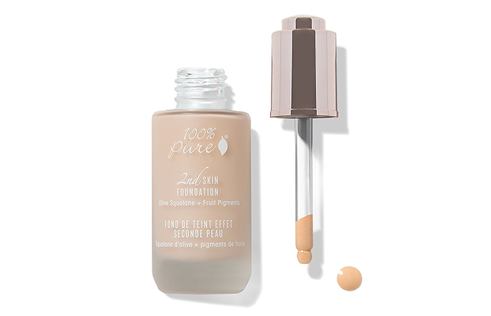 Foundations For Dry Skin - 100% Pure 2nd Skin Foundation