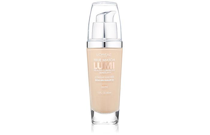 Best Foundations For Dry Skin - L'Oreal Paris True Match Lumi Healthy Luminous Makeup