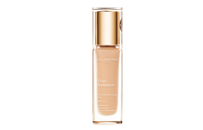 Best Foundations For Dry Skin - Clarins True Radiance Foundation SPF 15