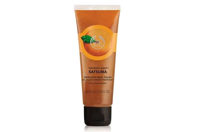 4. The Body Shop Satsuma Body Polish