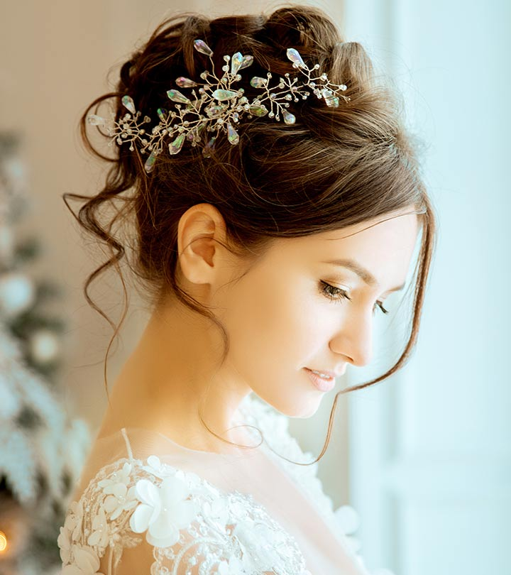 Hairstyles For Girls In Wedding