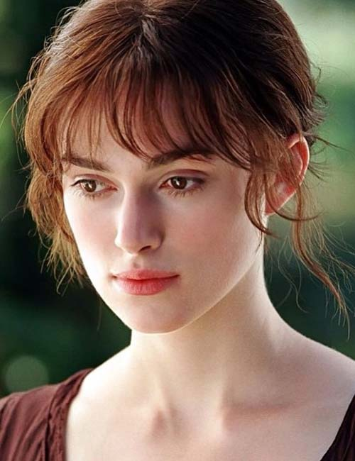 Best Long Hair With Bangs Looks - Square Face