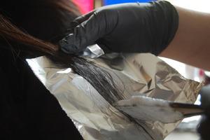 Aluminum foil to wrap each strand