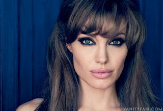 Angelina Jolie Makeup Cheeks