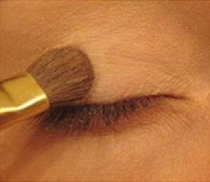 Asian Eye Makeup Tutorial - Step 1: Apply Eye Base