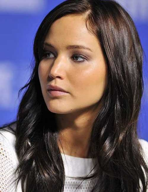 Best Long Hair With Bangs Looks - Round Face