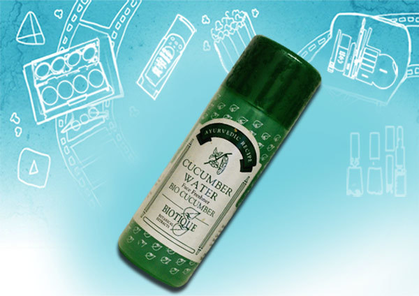 BIOTIQUE CUCuMBER WATER for refreshing face