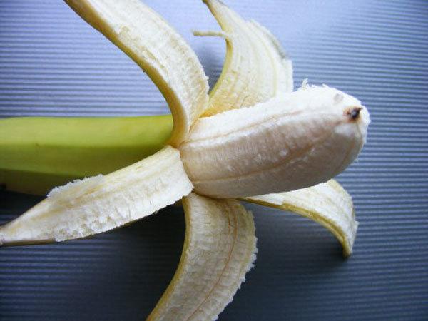 Banana mask for clear skin