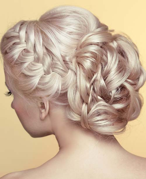 Braided Beautiful Updo
