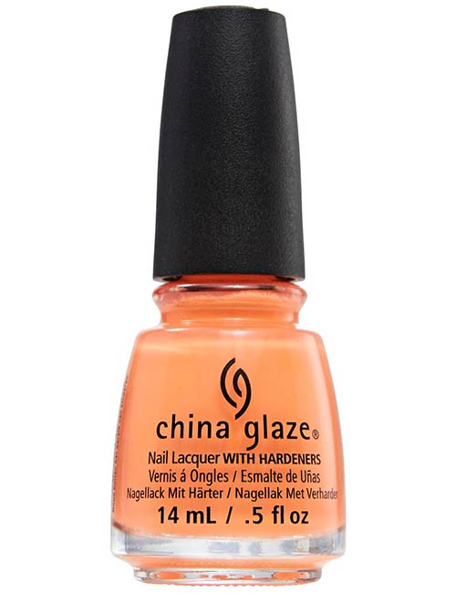 China Glaze In Sun Of A Peach