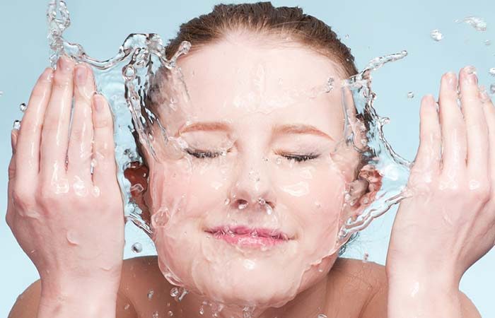 Clean Your Face Twice A Day - How To Get Rid Of Teenage Acne