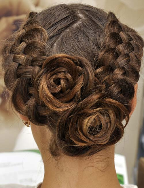 Double Rose Braids