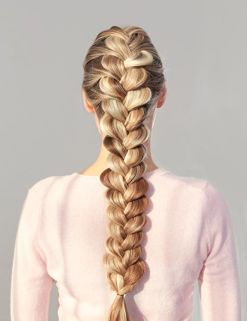 Dutch Heart Braid