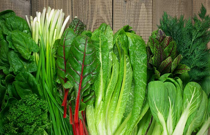 Get Folic Acid (Vitamin B9) From Leafy Greens
