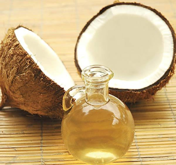 Hair growth with coconut oil