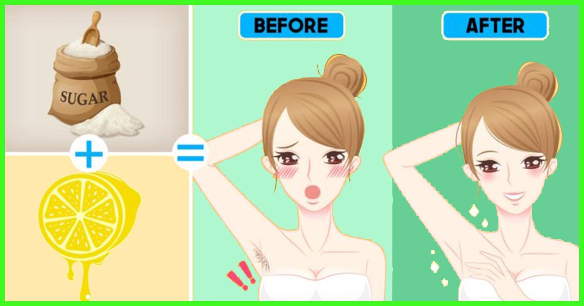 How To Remove Underarm Hair At Home Naturally