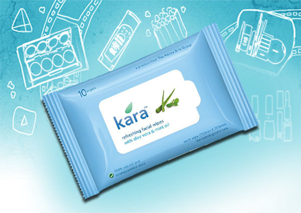 Kara skin care wipes
