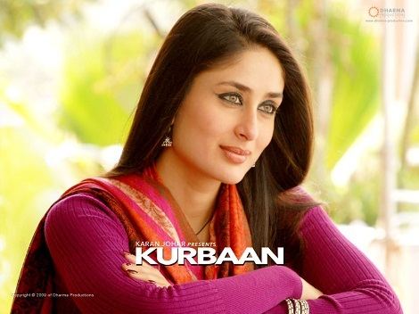 Kareena Kapoor With smokey eyes in Kurbaan