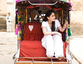 Kareena Kapoor patiala look in Jab We met