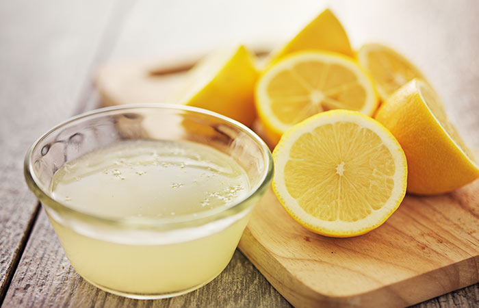 Lemon Juice For Long and Strong Nails