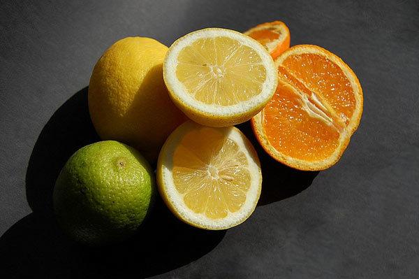 Lemon or orange to control oil ness