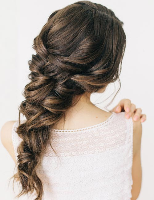 Messy Elegant Braid