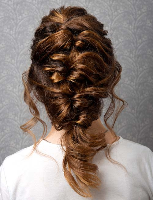 Messy Twisted Braid