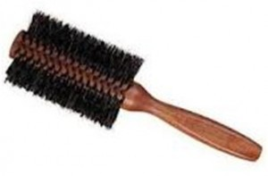 Natural bristle round brushes
