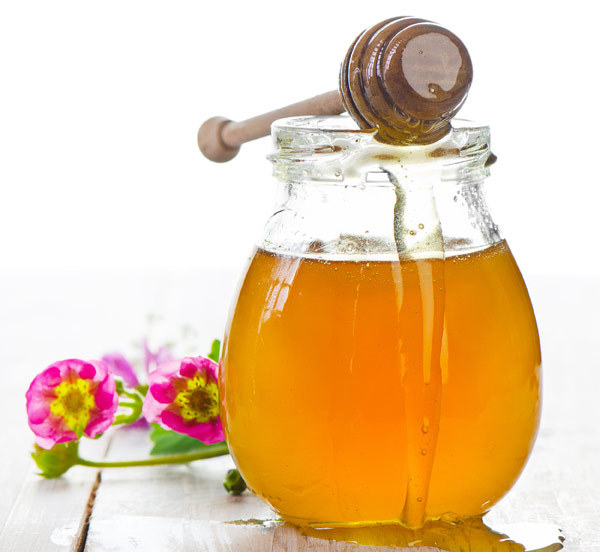 Natural honey for sensitive skin