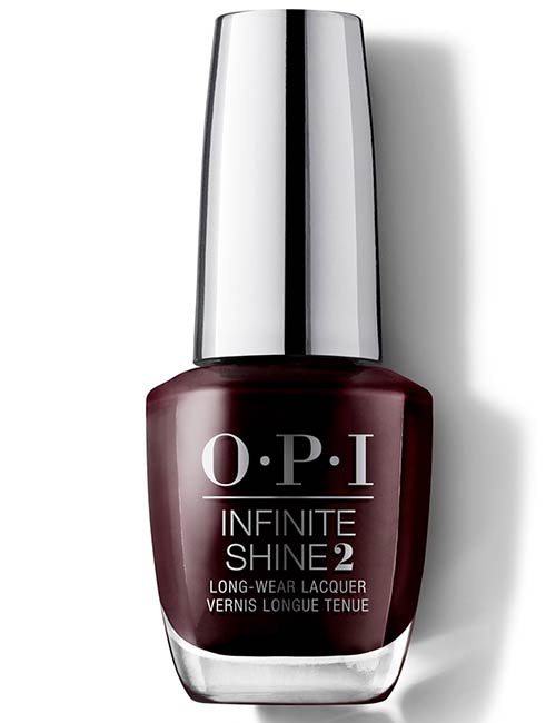 O.P.I Infinite Shine Nail Polish In Stick To Your Burgundies