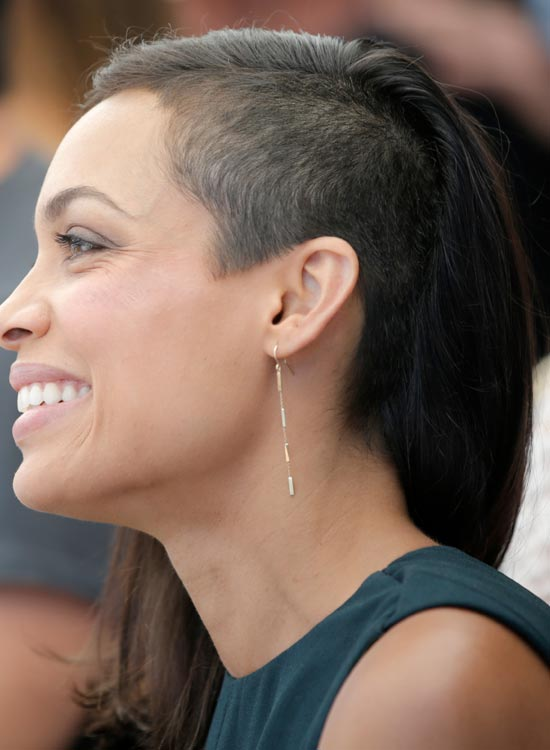Partially-Shaved-Head-with-Long-Black-Hair