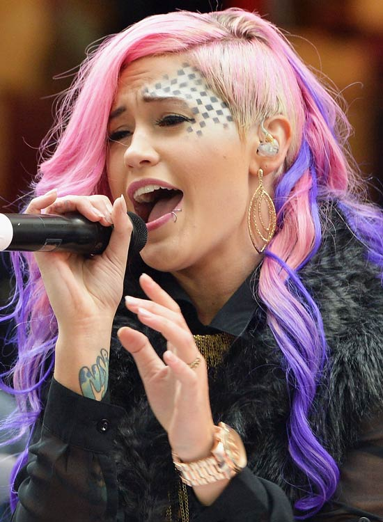 Pink-Locks-with-Blue-Highlights-and-Shaved-Side