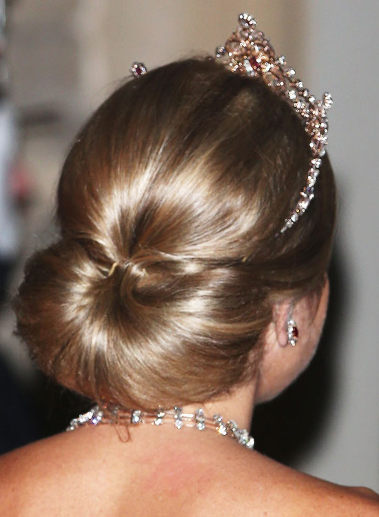 Polished Low Semi-Circular Bun with Volumized Crown