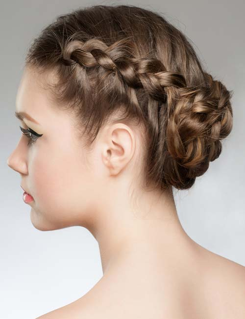 Rolled Roses Braids