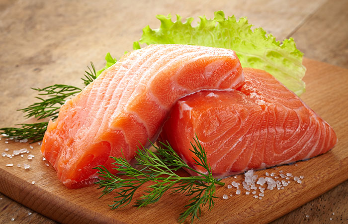 Salmon For Strong Nails