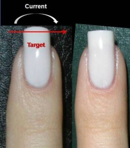 Squarely Rounded Shape Nails
