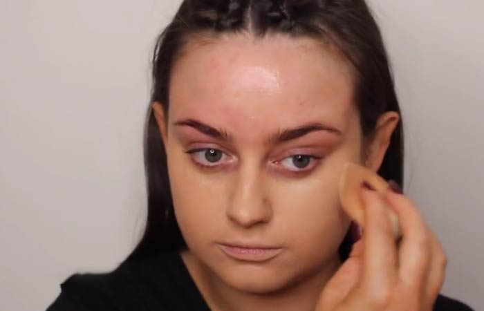 How To Hide Pimples With Makeup - Step 3 Apply Your Foundation