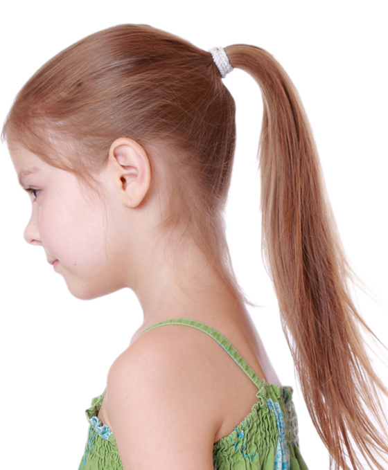 24 Perfect Little Girls Ponytail Hairstyles Dohoaso Com