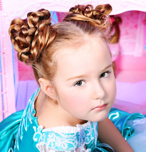 Stylish Hairstyles For Your Little Girl44 Pinit
